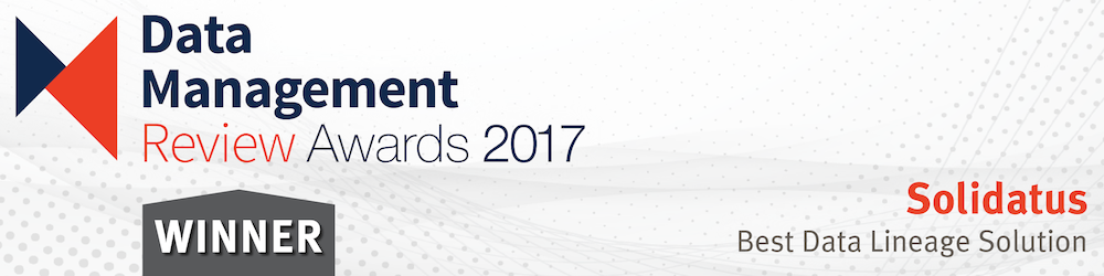 Solidatus Named 'Best Data Lineage Solution' at DMR Awards 2017