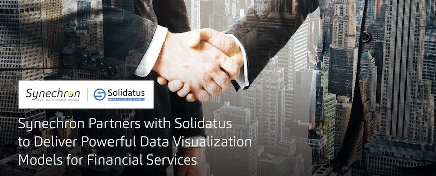 Solidatus Partners with Synechron to Deliver Powerful Data Visualisation for Financial Services